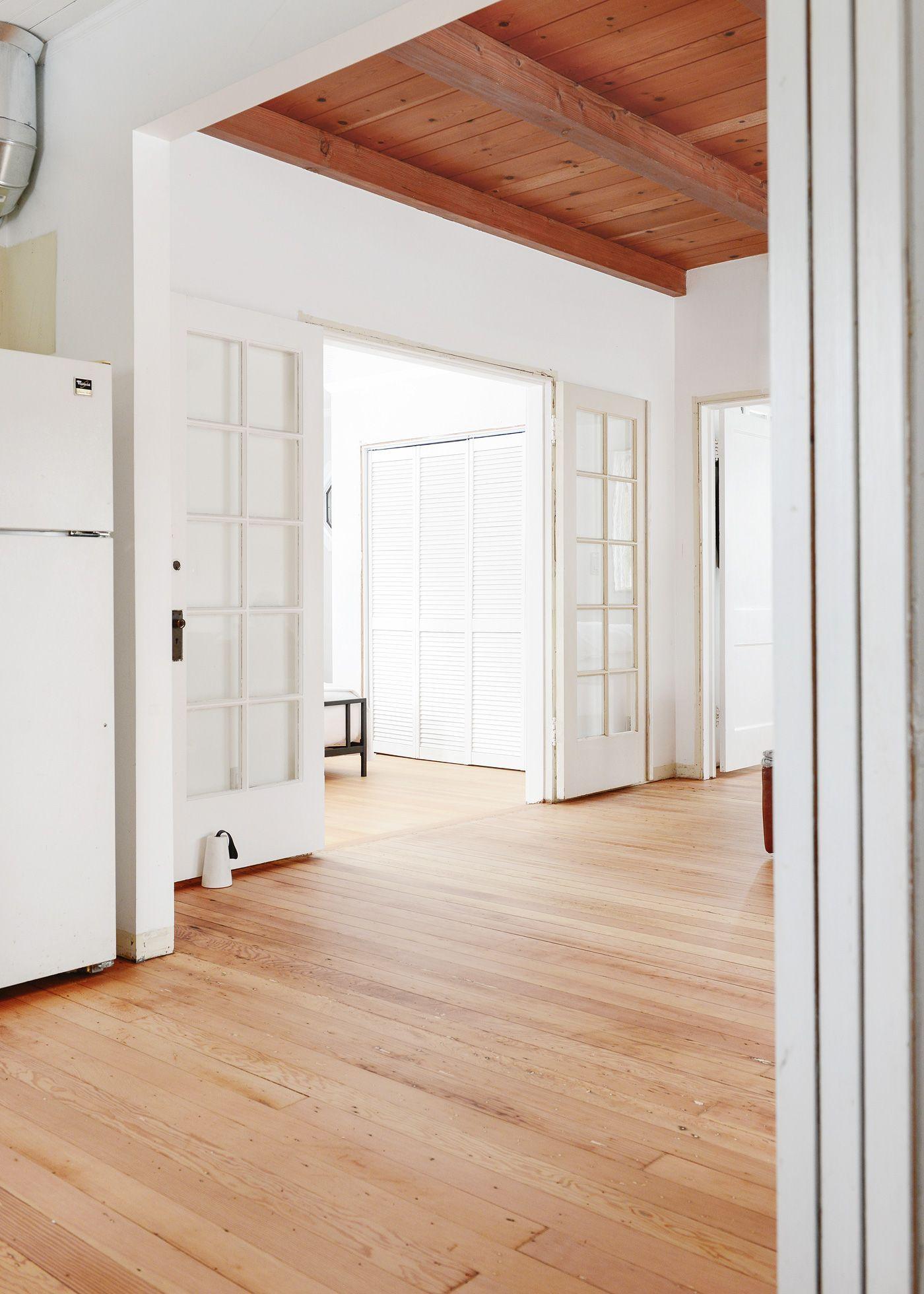 The Most Drastic Change Our Tree House Has Seen Douglas Fir Flooring Douglas Fir Wood Flooring House Flooring