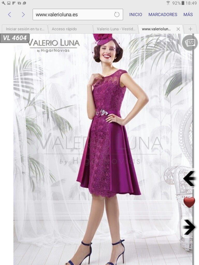 Excepcional Vestido De Cóctel 50s Friso - Vestido de Novia Para Las ...