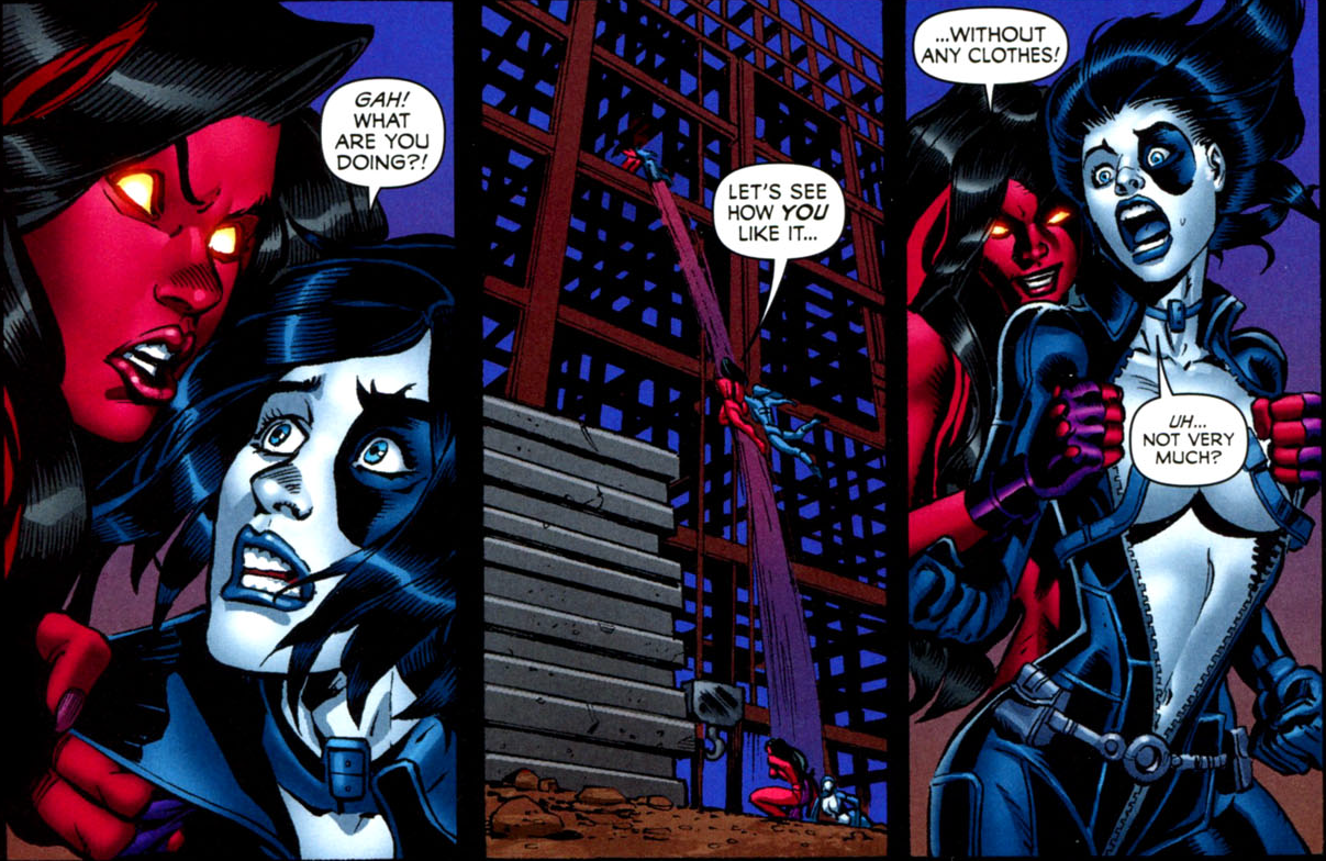 Domino xmen | Comic Vine Forums Betty Ross | Pages | Red she