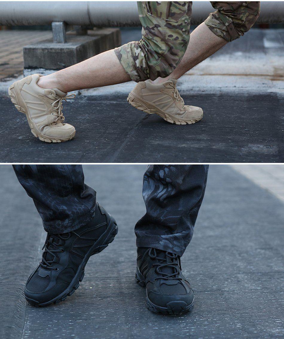 Tactical Military Sneakers Mens Combat