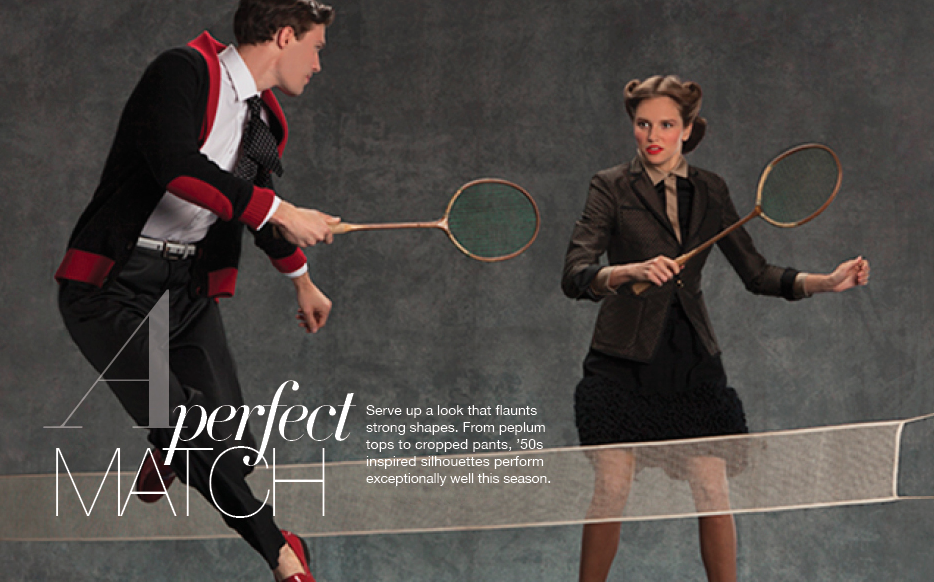 """""""A Perfect Match"""" The Country Club. 40's Elegant Sportswear Fashion Editorial with model Bo Pressly. Photographed by Nisian Hughes. Creative, Fashion, Photo, Art Direction & Styling by Vinny Michaud. Editorial Sportswear Fashion by Stylist Vincent Michaud. http://www.vincentmichaud.vision/editorialstyle/"""