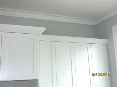 3 Piece Shaker Crown Molding With Backer And Cap Kitchen Cabinet