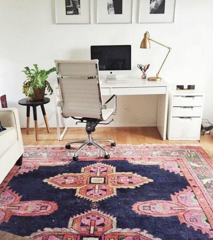 orient möbel deko persische teppich sitzstuhl am büro moderne - designer teppiche moderne einrichtung