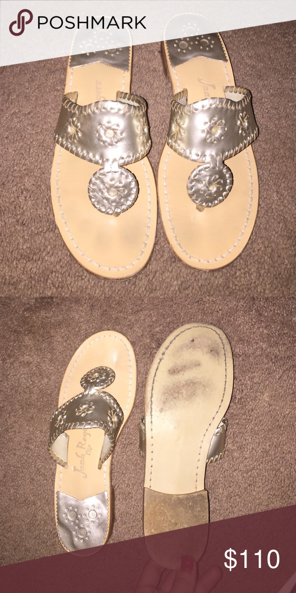 f0a6d8ec4d0ce7 Fairly new only warn three times max. Just getting rid of them because I  wear my other ones a whole lot more. Jack Rogers Shoes Sandals