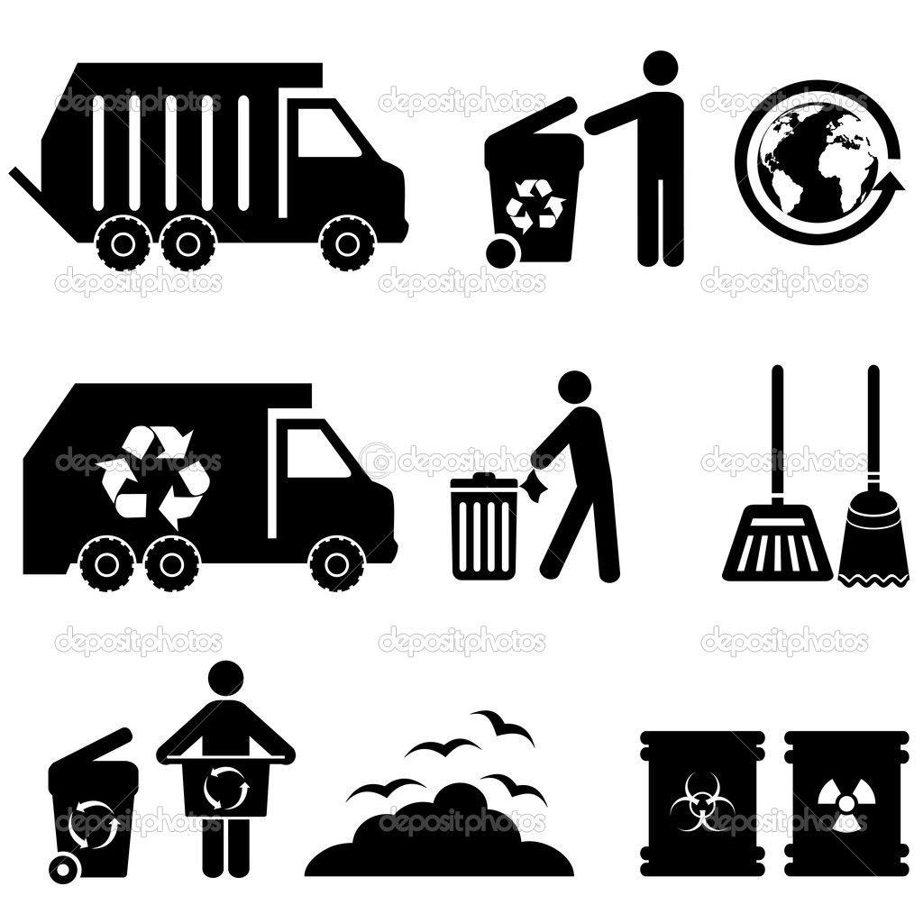 Dump Truck Silhouette Google Search Logo Design Typography Trash Garbage