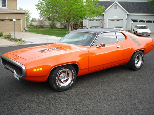 1971 Plymouth Roadrunner    BEAUTIFUL!   Classic Cars   Cars