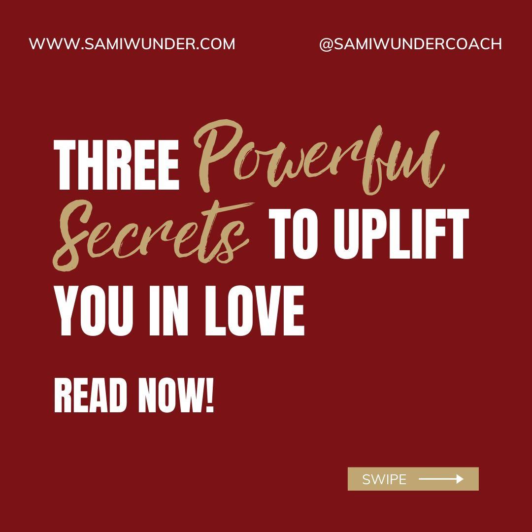 3 Feminine Energy Secrets To Empower You In Romance In 2020 Sami Romantic Love Love Reading