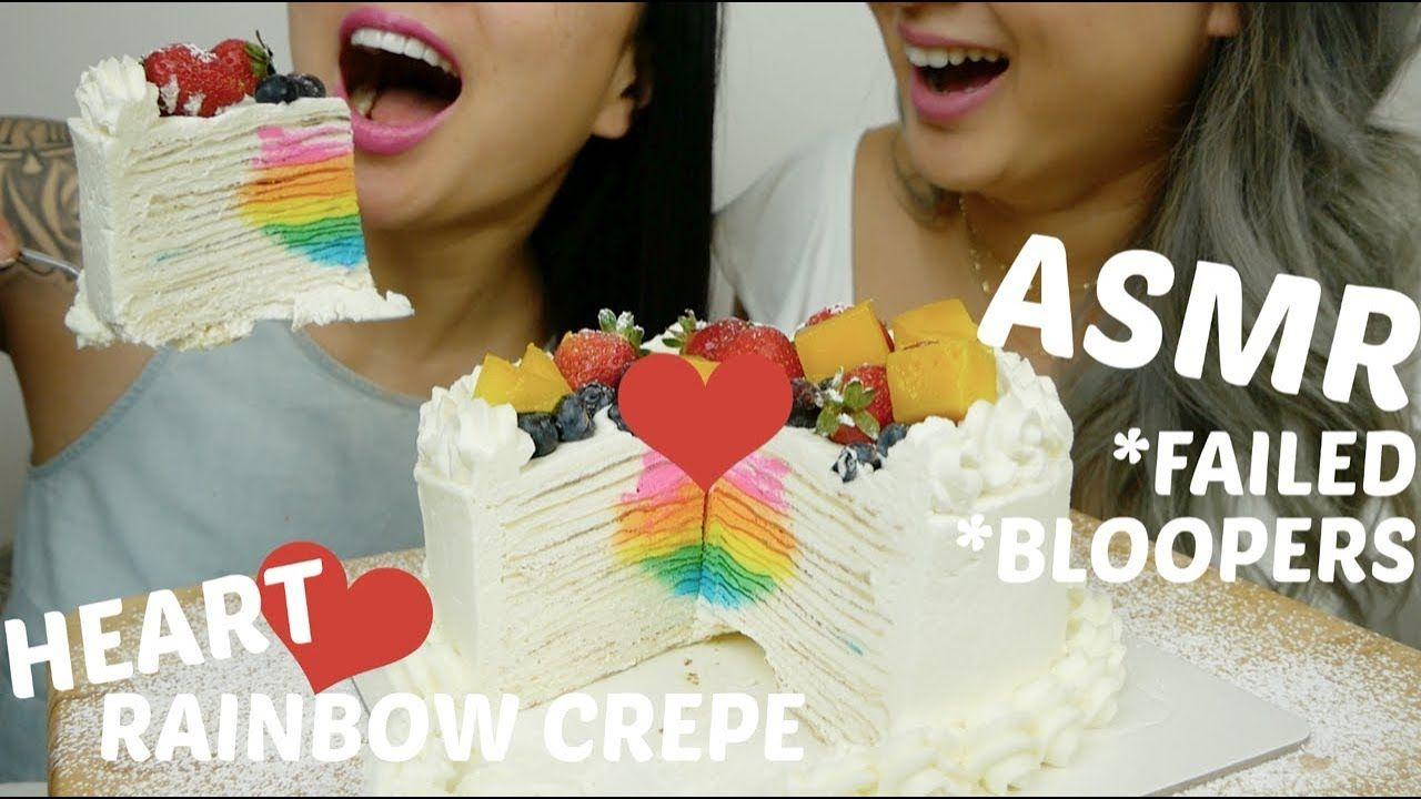 """Pin By """"ð""""¬ð""""¥ð""""¢ð""""«ð""""–𝔬𝔪𝔢𝔯𝔳𝔦𝔩𝔩𝔢 On Asmr Cake Fails Crepe Cake Rainbow Desserts @sasittube @sasvlogss (personal) business inquiry only: cake fails crepe cake rainbow desserts"""
