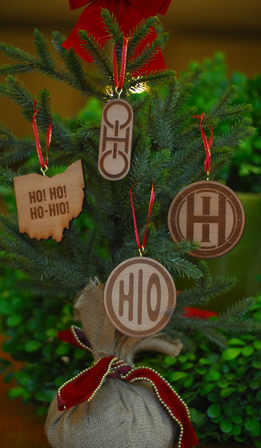 Pin By Celebrate Local Shop The Best On Ohio Gift Ideas How To Make Ornaments Ohio Gifts Ohio State Ornaments