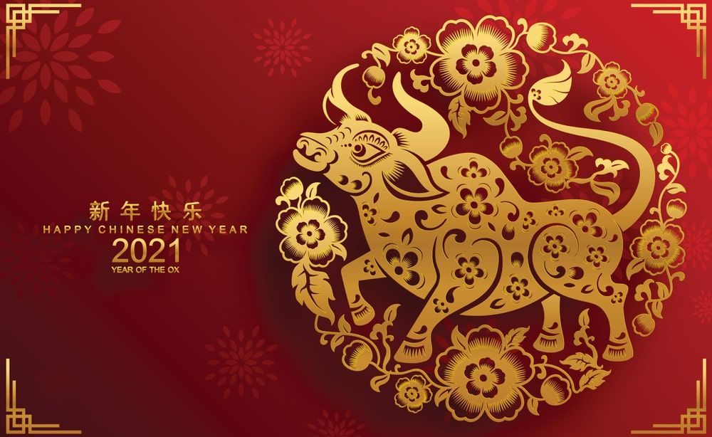 Happy Chinese New Year 2021 Images Chinese New Year Calendar Chinese New Year Card Happy Chinese New Year