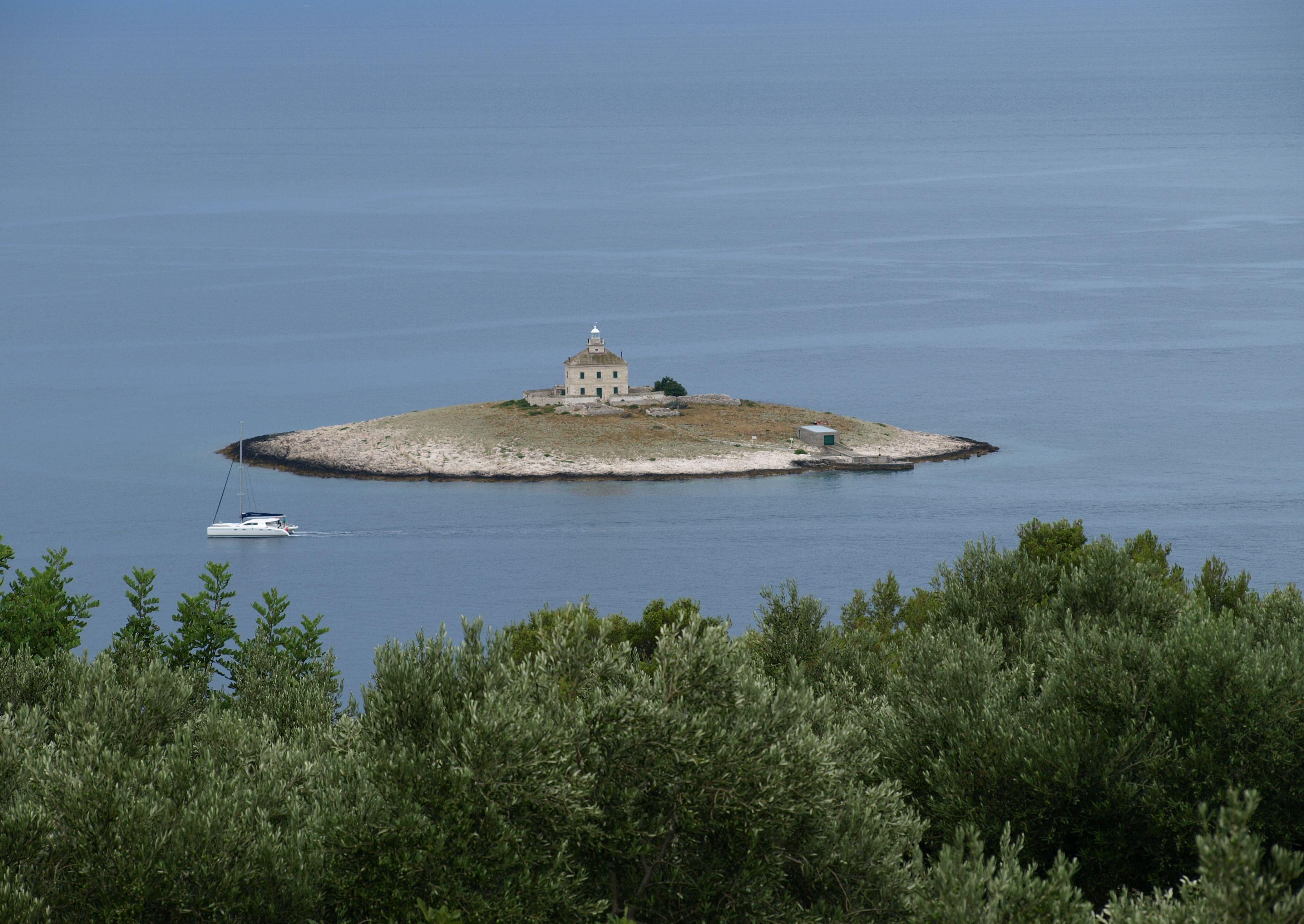 Dreamy island near Hvar