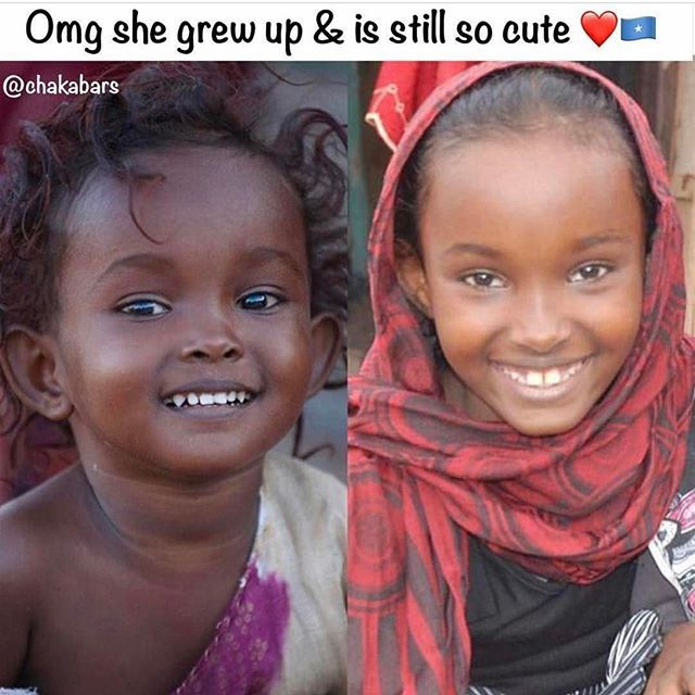 Aww who remembers her viral baby pic ? so cute ❤️ #lovearmyforsomalia