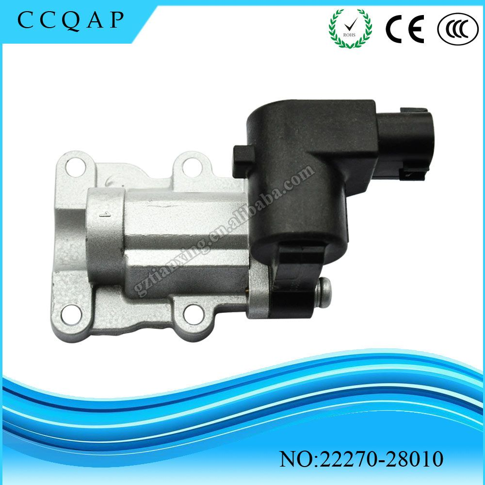 High Quality Idle Air Control Valve For Toyota Highlander 2 4 Rav4 2 0 22270 28010 Toyota Highlander Control Valves Toyota