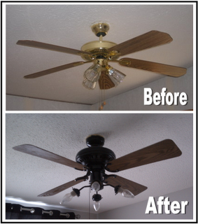 Diy Ceiling Fan Makeover With Images