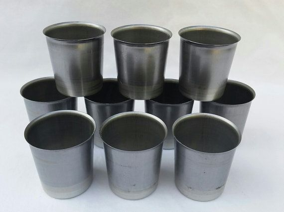 SQUARE  VOTIVE CANDLE MOLD  NEW SEAMLESS ALUMINUM
