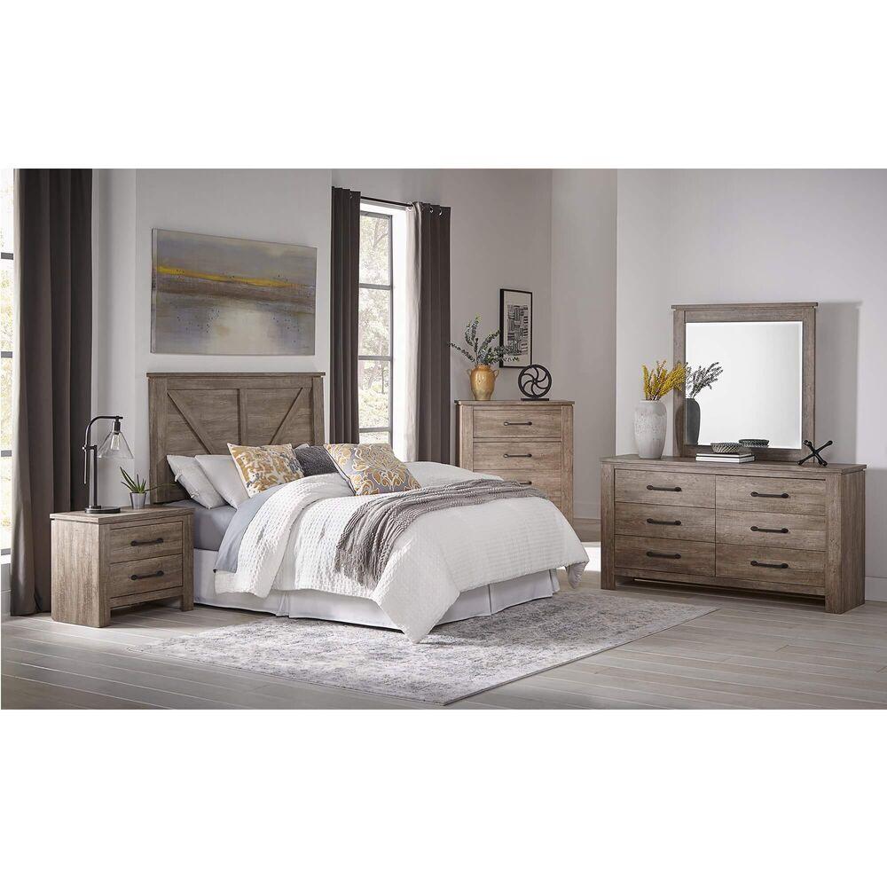 10 Piece Adorna Queen Bedroom W Pillow Top Plush Mattress In 2020
