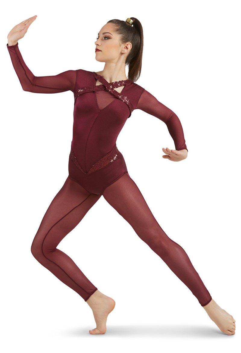 3d070a055c91 Long Sleeve Unitard | Weissman® | dance costumes in 2019 | Jazz ...