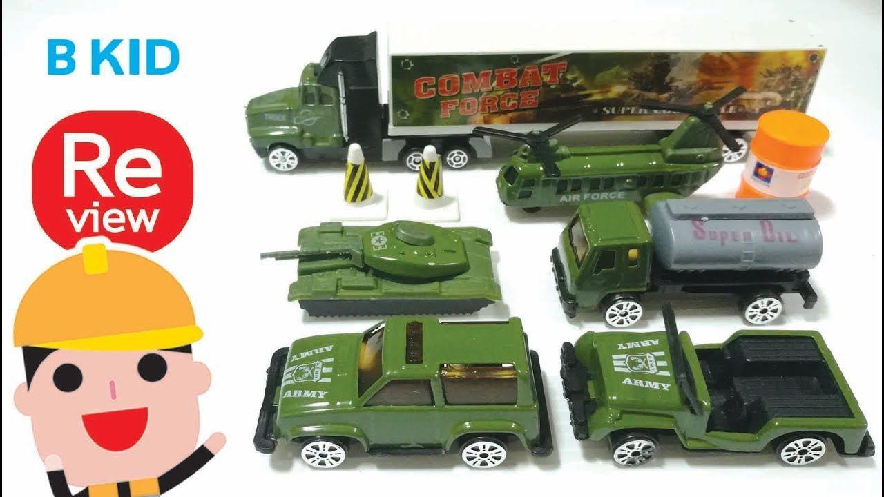 Toys car image  รววของเลน ชด รถทหาร รถถง รถจบ รถนำมน รถเทเลอร  นายตดหมก