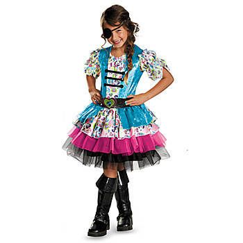 Our Playful Pirate Child Costume features a blue, fushia, black and - black skirt halloween costume ideas