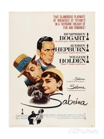 'Sabrina, Audrey Hepburn, Directed by Billy Wilder, 1954' Giclee Print - | AllPosters.com