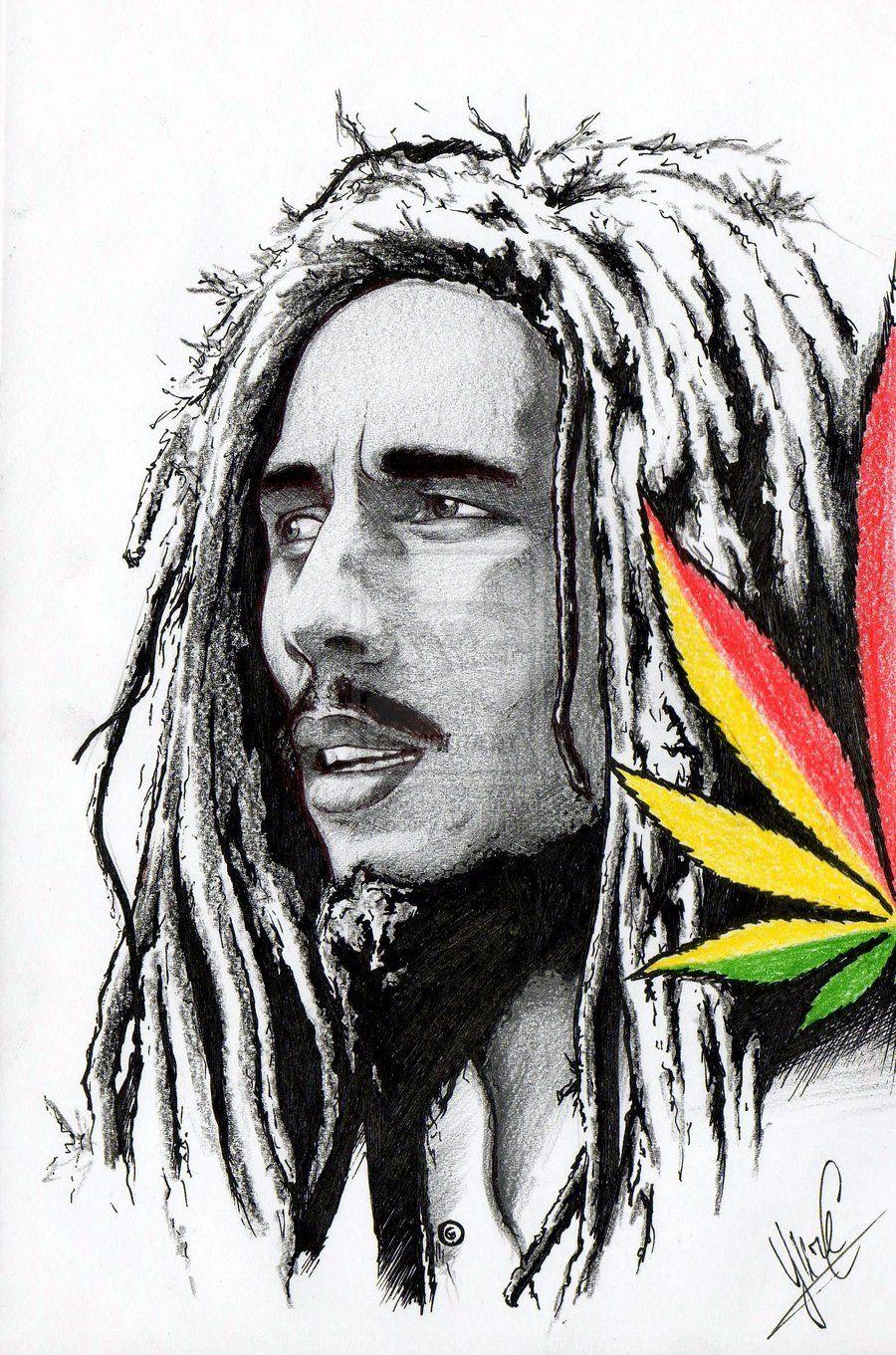 Imagem Do Reggae ~ Hi Bob What gonna you do Bob ideas Pinterest Bobs, Bob marley and Drawings