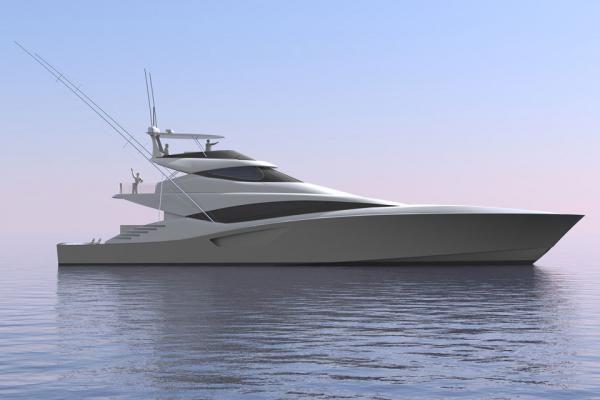 Bakewell White 335 Sportfish Fishing Yachts Sport Fishing Boats