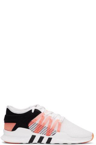 adidas White & Black QT Racing Adv Sneakers Meilleur Gros Nouveau À Vendre Prix Pas Cher De La France 5XwwZD5K