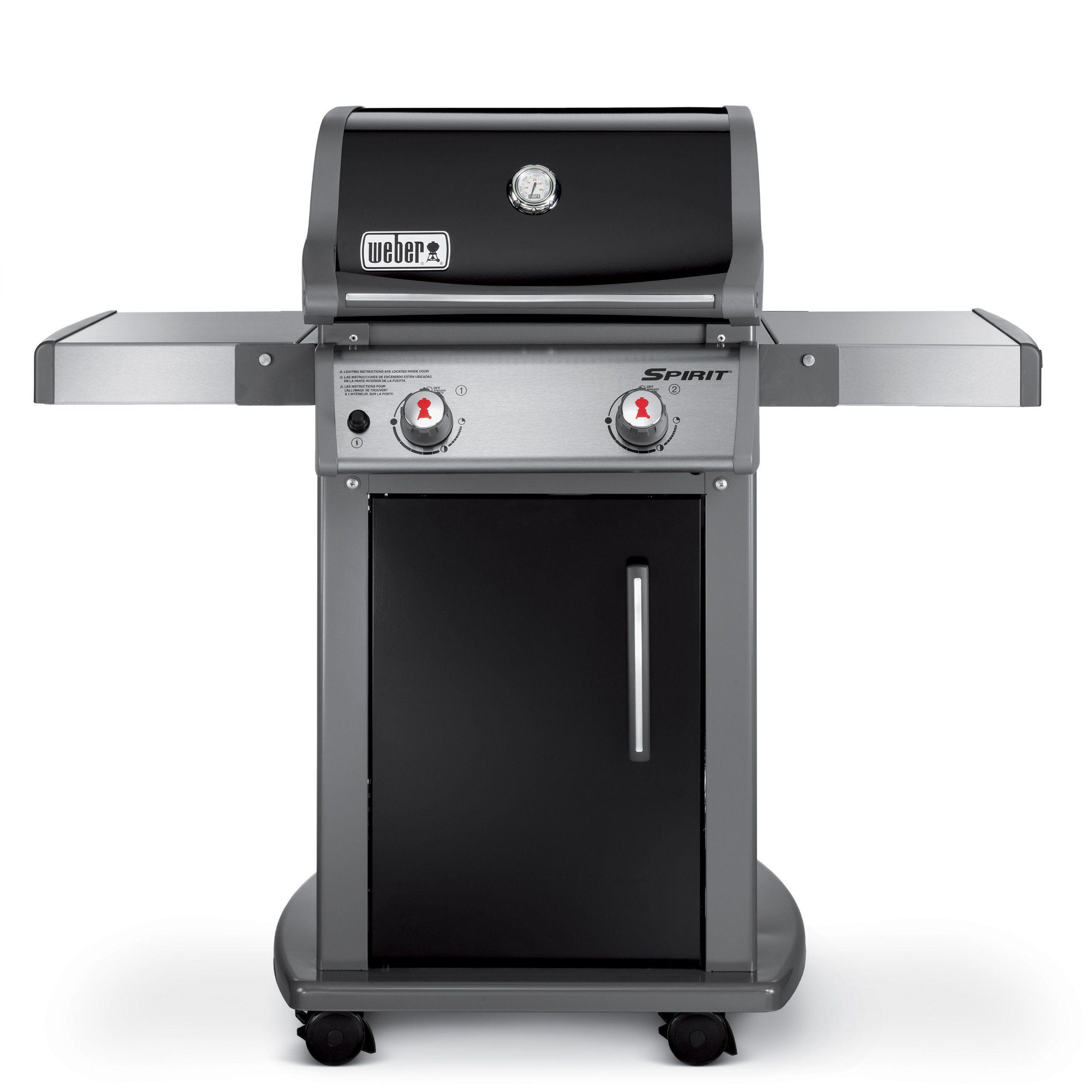 Weber 46110001 Spirit E210 Liquid Propane Gas Grill Black Natural Gas Grill Gas Grill Reviews Propane Gas Grill