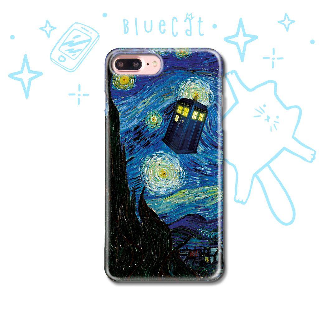 DOCTOR WHO TARDIS CARTOON iphone case