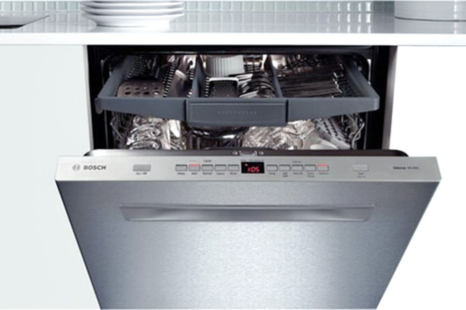Bosch 500 Series Tall Tub Built In Dishwasher With Stainless Steel Alternate View 14