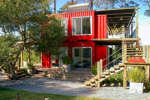 Eco Container Apartments, José Ignacio, Uruguay | boutique-homes.com