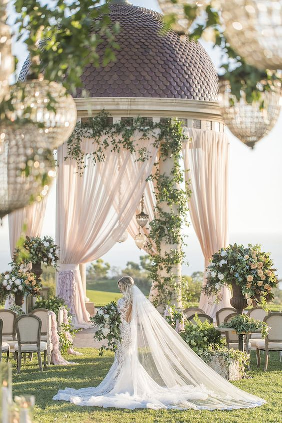 15 dreamy wedding ceremony ideas for a fairytale affair wedding wedding ceremony ideas wedding outdoor wedding outdoor wedding ideas wedding ideas outdoorwedding wedding httproughluxejewelry junglespirit Images