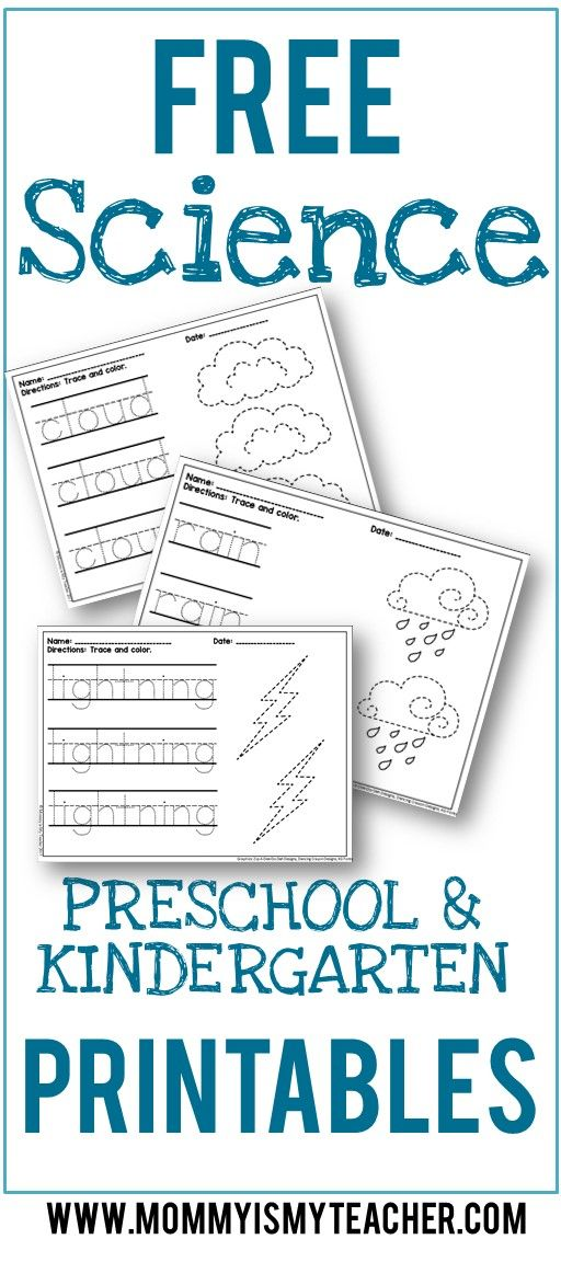 This website has so many free preschool printables! They are great ...