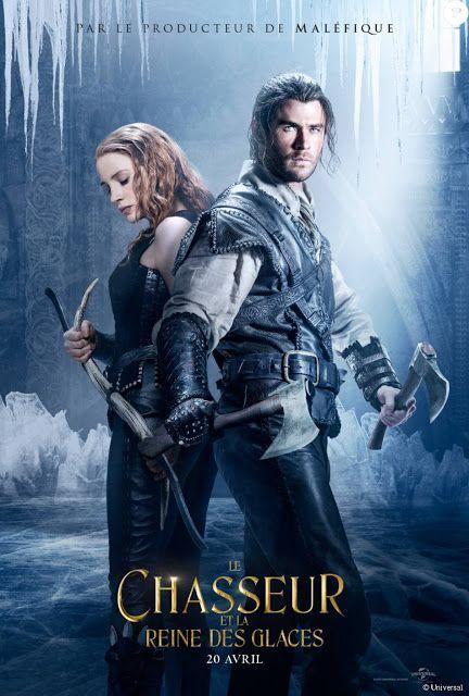 La chronique des passions le chasseur et la reine des glaces affiche films huntsman movie - Regarder la reine des neiges gratuit ...
