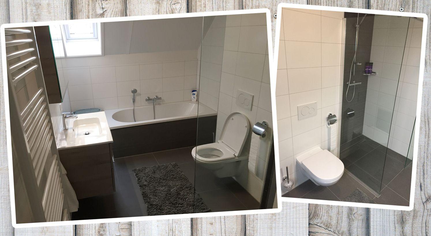 Het mooie grijze nieuwe binnenland van de luxe moderne badkamers
