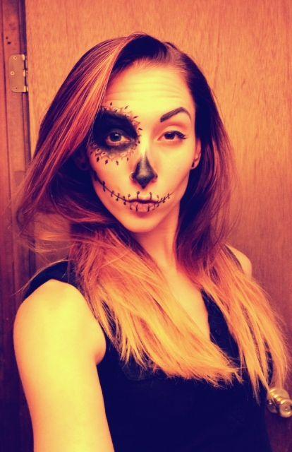 Ever seen a Sugar Skull Duck Face? ...Now you have.  sc 1 st  Pinterest & Dia de los Muertos - Sugar Skull   Halloween make up Sugar skulls ...