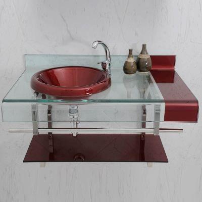 Armario Pia Bancada Banheiro Astra Estilo Chopin 70cm R 899