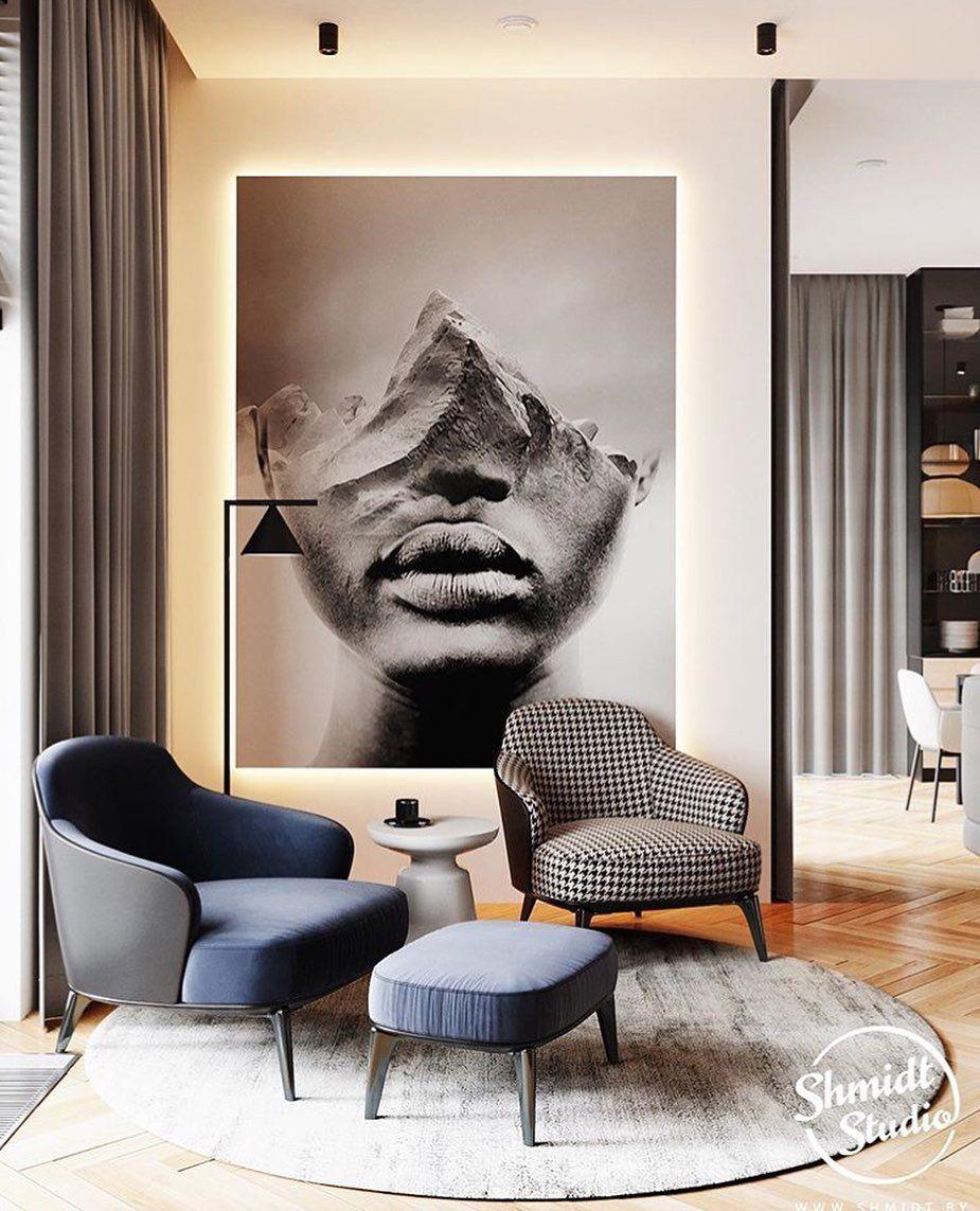 Design: Shmidt studio #interiordesignusa #interiordesign