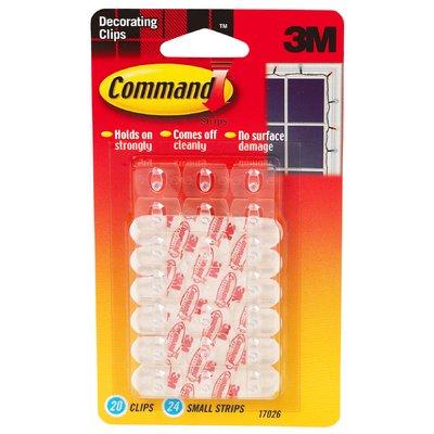 3M Command Decorating Clip (20 Count) Command hooks