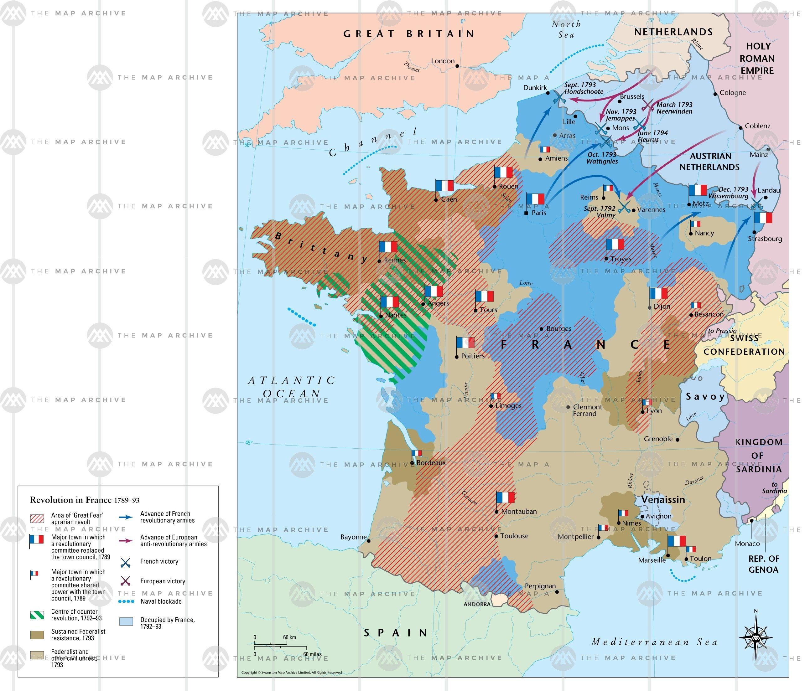 The Revolution Under Siege French Revolution 1789 1793 French