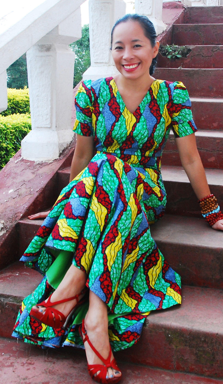 kitenge dress from rwanda african prints pinterest african
