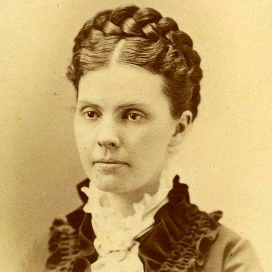classic braided coronet 1880s
