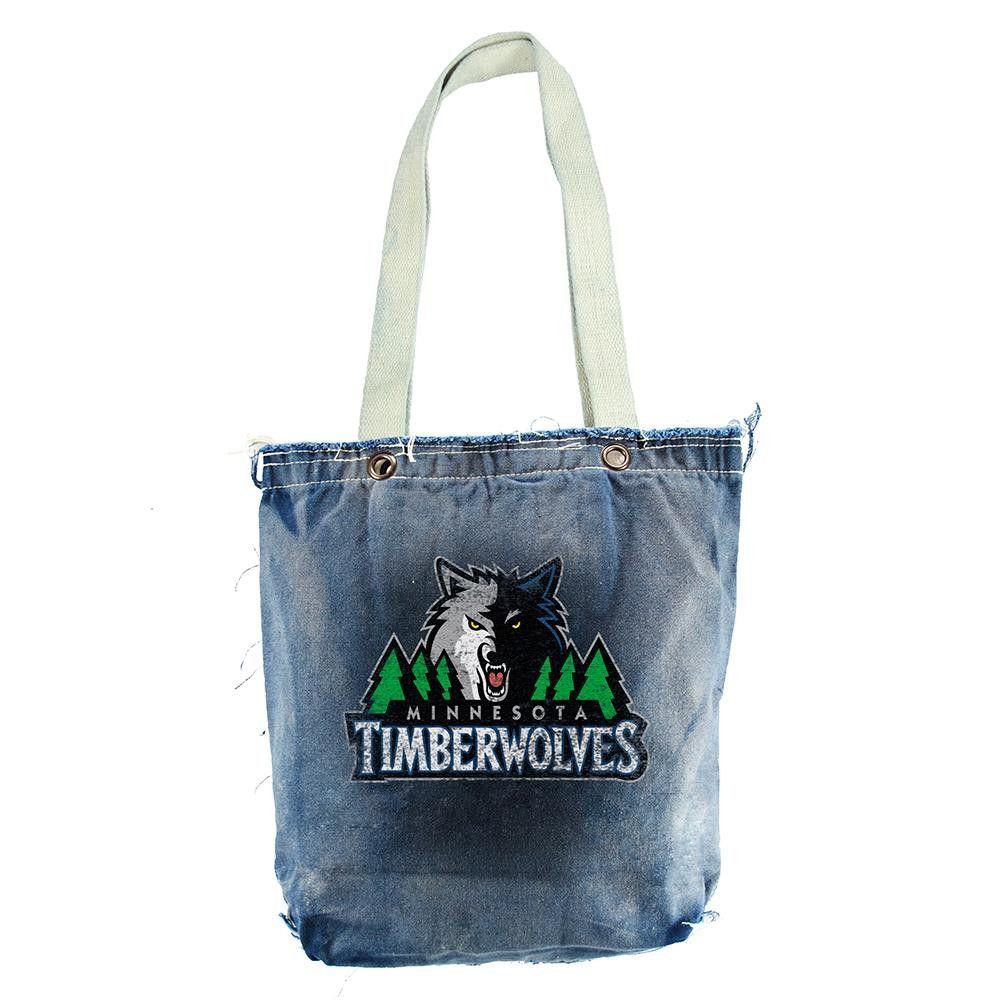 Minnesota Timberwolves Nba Vintage Denim Shopper Products