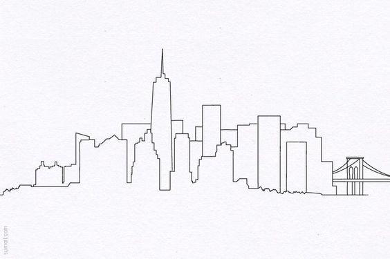 A8016c490fbca1c9dbbc9c1a801db180 Manhattan Skyline Nyc Skyline