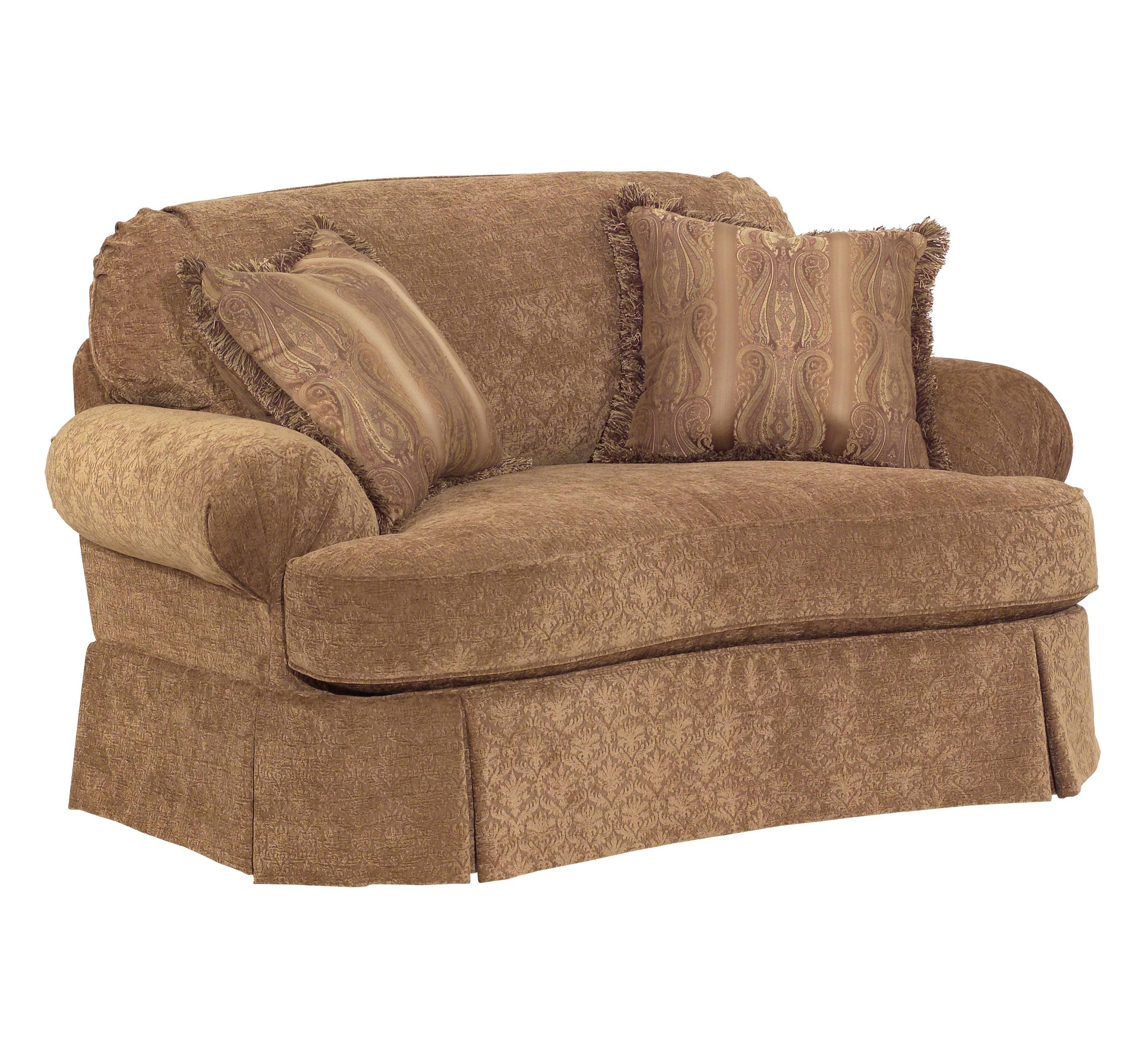 Best This Skirted Oversized Chair Will Make For A Beautiful 400 x 300