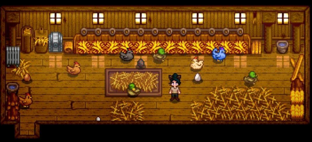 Duck   Chicken Coop  Stardew Valley Deluxe Coop Farm Animals Brown ... e50619132