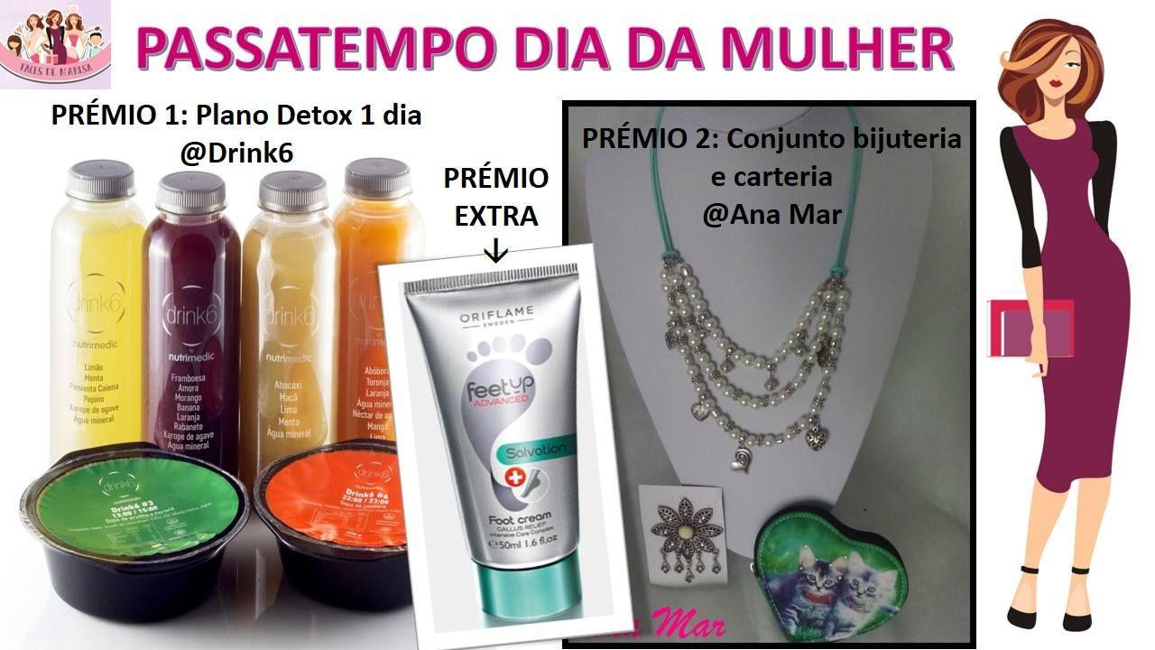 A decorrer no blogue!!  http://simplesmentemarisa.blogspot.pt/2016/03/passatempo-dia-da-mulher.html  #detox #saúde #vidasaudável #Drink6