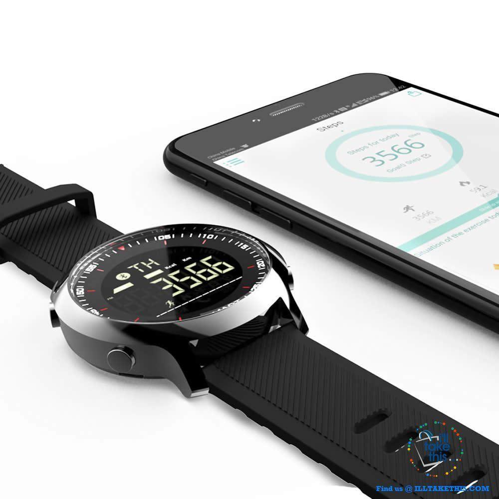 Men's Sports Smartwatch Waterresistant, pedometers