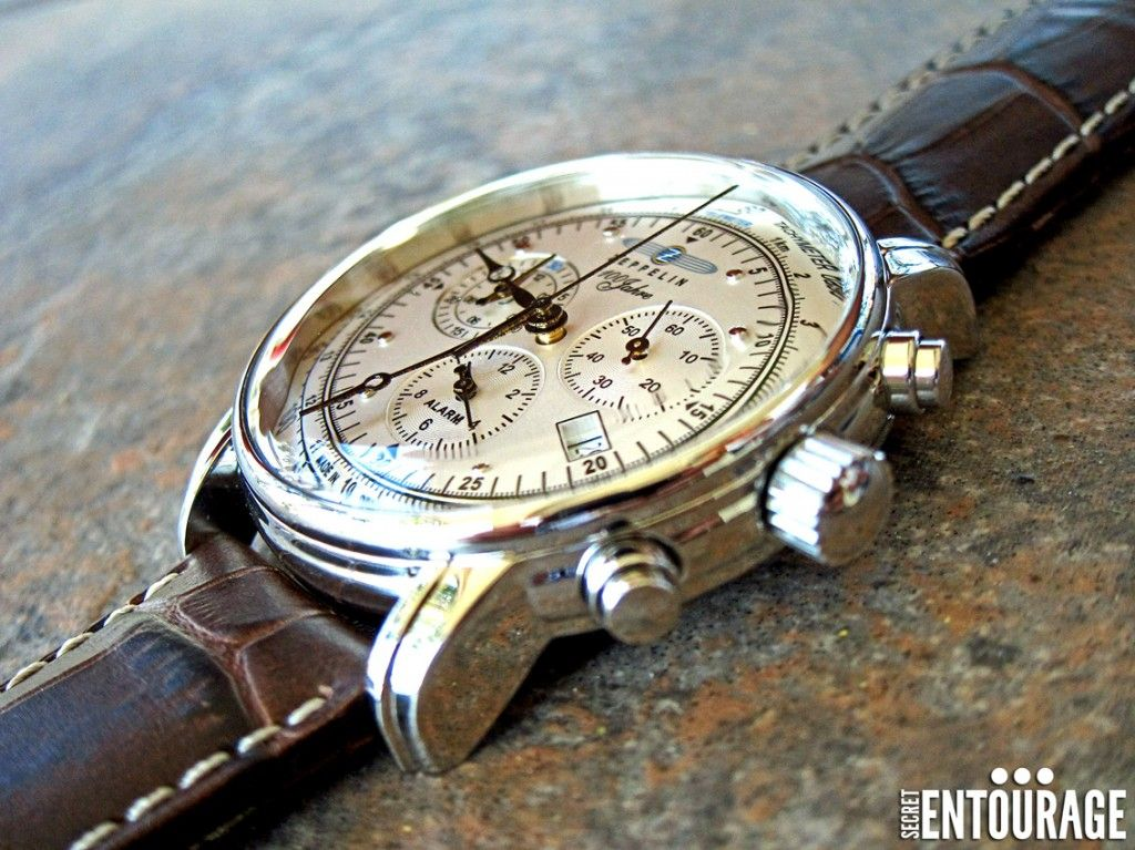 Secret Entourage Review >> Island Watch Graf Zeppelin Review Zeppelin Watch
