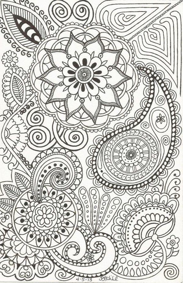 40 Beautiful Doodle Art Ideas Doodles Zentangles And